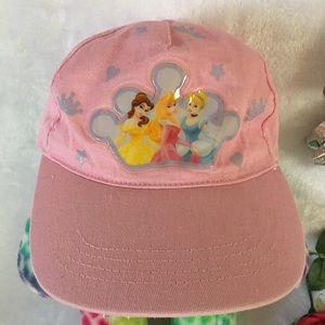 DISNEY PRINCESS CAP 5.3 cm pink silver crown